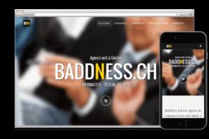 Création Application:  BADDNESS.CH