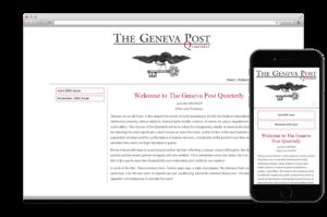 Création site web:  GENEVA POST