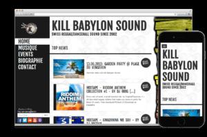 Création site web:  KBS
