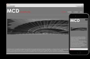 Création site web:  MCD ARCHITECTES