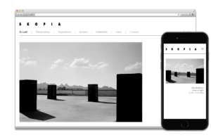 Création site web:  SKOPIA