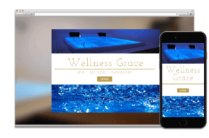Création site web:  WELLNESS GRACE