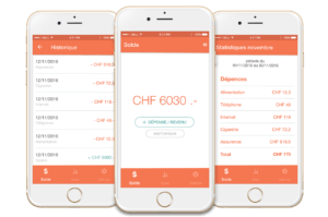 Création Application:  Easy Money Manager