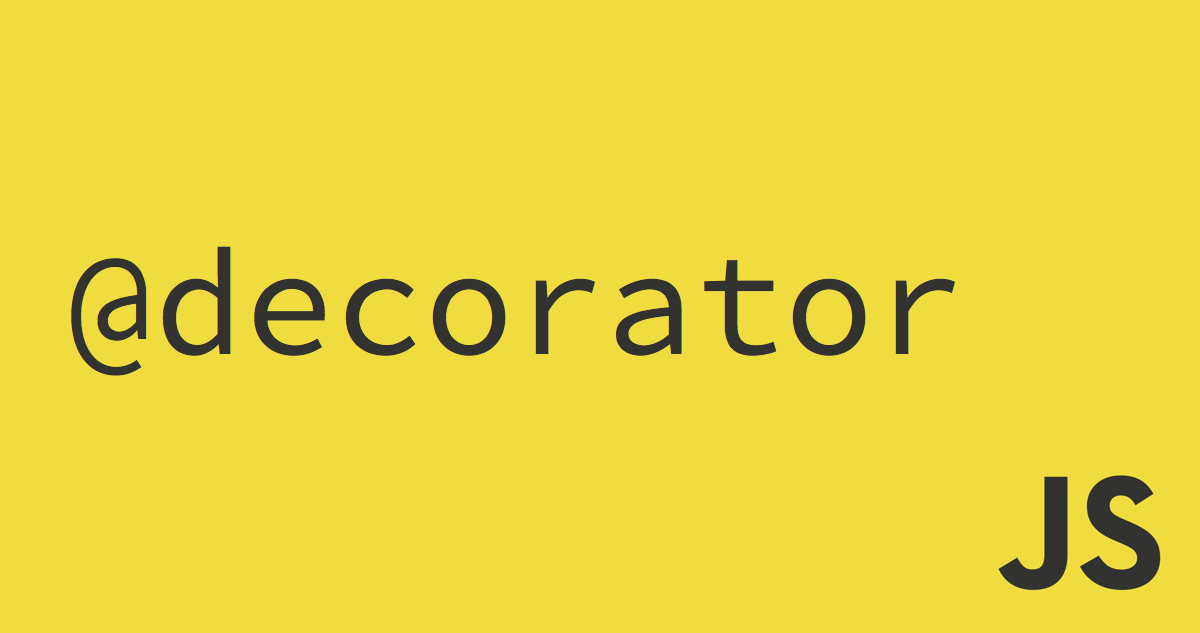 es6 decorator javascript