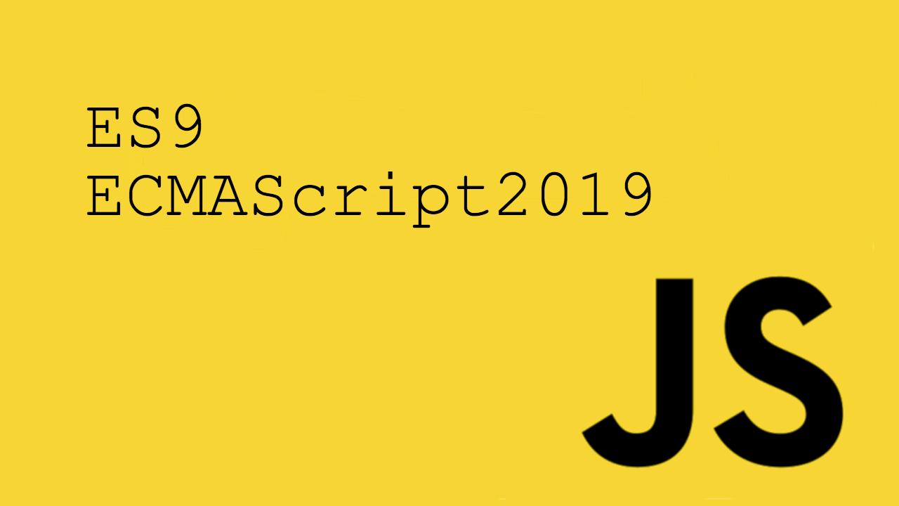 Nouveauté Javascript ES2019