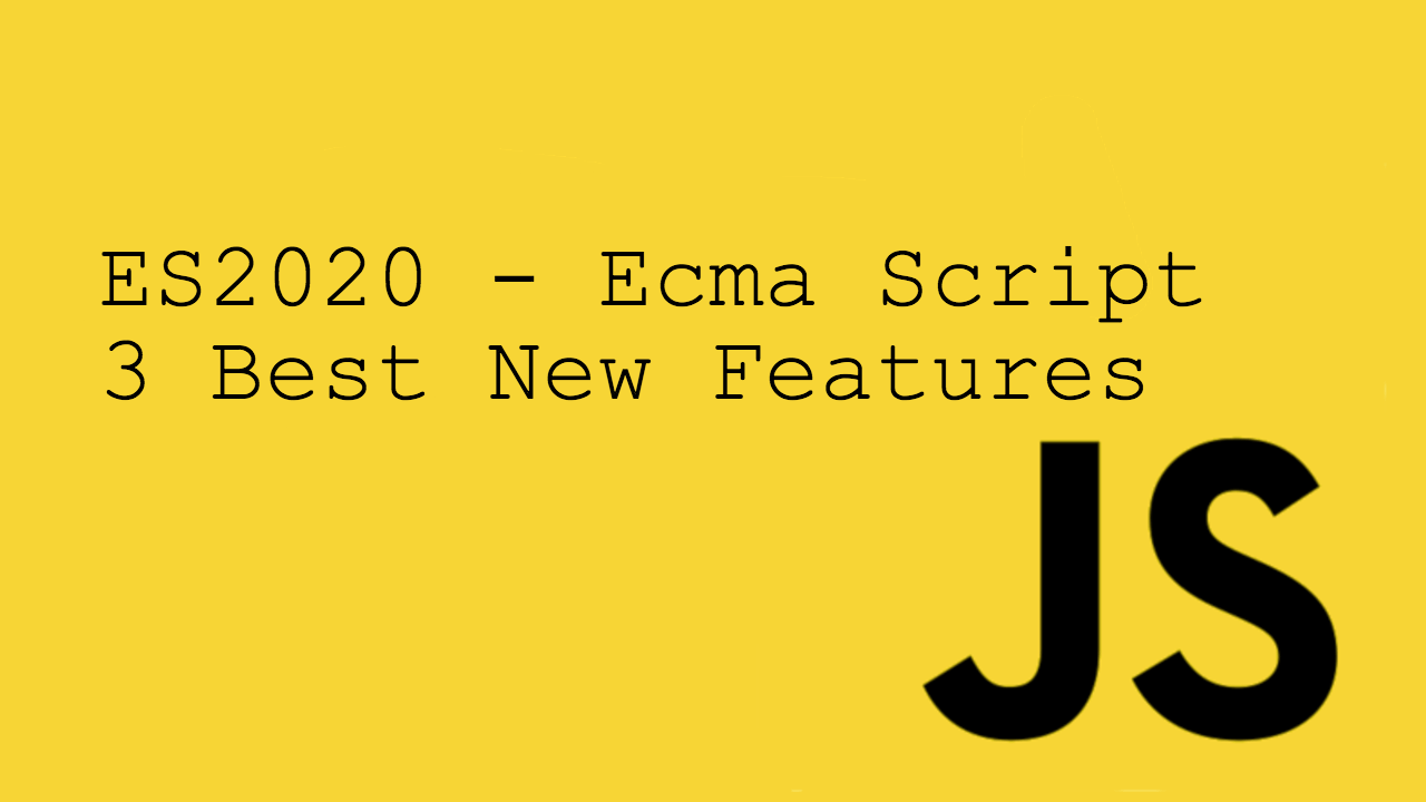 es2020 new features